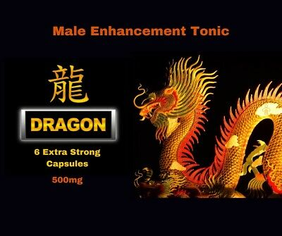 Dragon Sex Tonic Pills Extra Strong male erection 500 mg x 6 Capsules 30 mins !