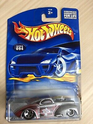Hot Wheels 2001 Skin Deep Series 2//4 Jeep Willys Coupe #094 on Race and Win Card