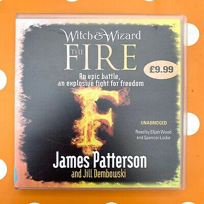Witch & Wizard The Fire By James Patterson Complete & Unabridged CD Audiobook