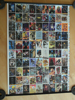 STAR WARS - TOPPS - GALAXY 2 uncut sheet - limited edition