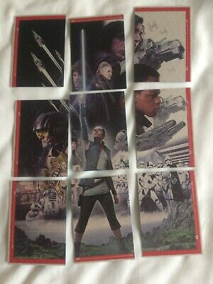 Star Wars The Rise Of Skywalker Topps Trading Cards X 9 Very Good  Free Postage