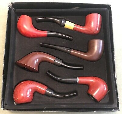 Lot of 6: Smoking Pipes, Unmarked, Never used, Variety