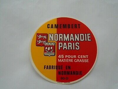 SEINE ET MARNE J267 FROMAGE CAMEMBERT CLAUDY CHAMBRY AISNE NORMANDIE