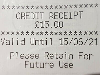 Marks And Spencer Credit Note/Voucher £15