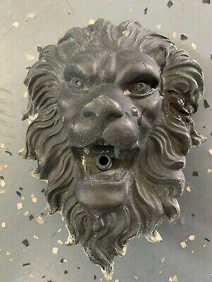 Jeco Copper Lion Head Outdoor Indoor Water Fountain 813 92 Picclick