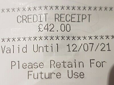 Marks And Spencer Credit Note/Voucher  £42