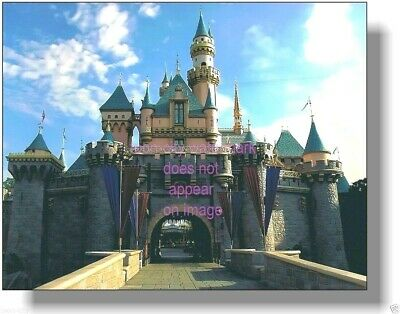 Disneyland 1954//55 Construction Hub Sleeping Beauty Castle Frontierland Entrance
