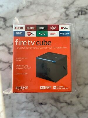 Amazon Fire TV Cube 4K 2nd Gen Streaming Media Player 16GB NEW LATEST 2019