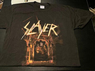 Jeff Hanneman Signed Autographed Slayer 2001 God Hates Us All Shirt Very Rare