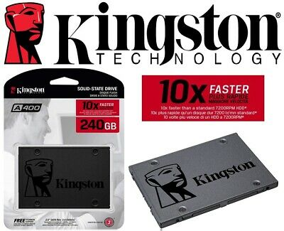"NEW Kingston 240GB SSD Drive A400 2.5"" SATA III 2.5 inch Solid State Drive"