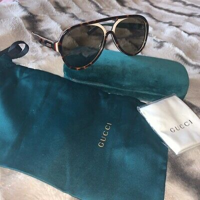 Gucci Sunglasses, Ladies (condition-new) With Case