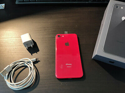 LIKE NEW Apple iPhone 8 - 64GB - (PRODUCT) Red (Unlocked)   Model A1905 (GSM)