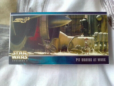 Star Wars Episode 1 Complete 40 Expansion Chase Card Set Topps - 1999