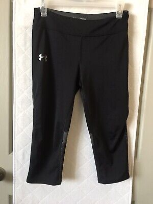 Under Armour Heat Gear  Girls Fitted Capri Leggings Youth YLG