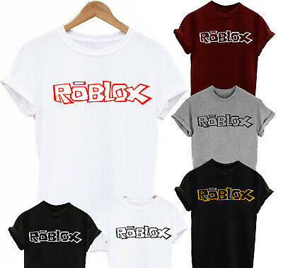 Roblox Logo Youth Boys Girls Gamer T-Shirt Robloxian Kids Size 4//5 or 14//16