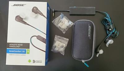 Bose QuietComfort QC20 SMSG - Noise Cancelling Earbuds - Used Great Condition