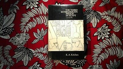 ** The Third Intermediate Period In Egypt 1973 1st ed by: K.A. Kitchen - hb / dj