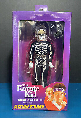 """JOHNNY HALLOWEEN OUTFIT Neca THE KARATE KID 8/"""" Inch Mego CLOTHED FIGURE"""