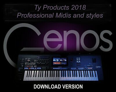 Vol 1 and 2 Twin Pack USB. Yamaha PSR S775 Pro Midis with Styles