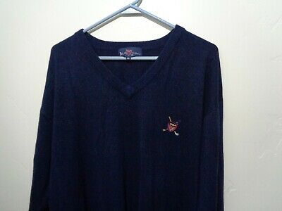 ralph lauren polo sweater cashmere pullover v neck xl extra large