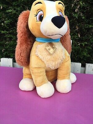 Rare Lady And The Tramp Trusty 21 Plush Soft Toy Genuine Disney Store Dog New 70 00 Picclick Uk