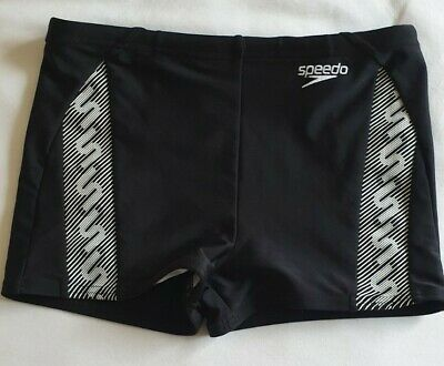 New Speedo Ess Placement Age 7 to 14 Boys Aquashorts Boxer Trunks Swim Shorts