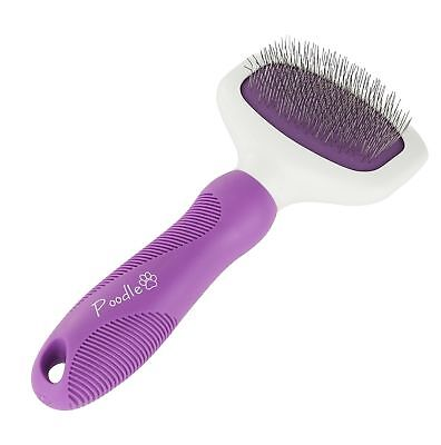 Poodle Pet Slicker Brush for Small and Large Dogs,Pets