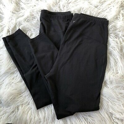 Lot Of 2 Old Navy XL Active High Waisted Elevate Compression Maternity Leggings