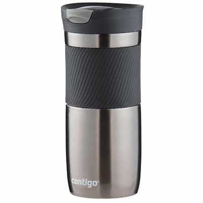 Contigo Byron Snapseal Travel Mug Gun Metal 470ml