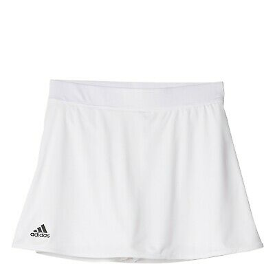 adidas girls white club skort. Tennis/Hockey/Netball. Age 5-6 years.