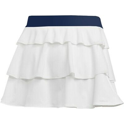 adidas girls white frill skort. Tennis/Hockey/Netball. Age 9-10, 11-12 & 14-15Y.