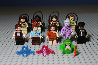 Lego Dr Peter Venkman 75827 with Proton Pack Ghostbusters Minifigure