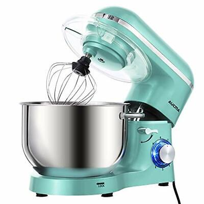 AUCMA Stand Mixer, 6.2 L Stainless Steel Mixing Bowl, 6 Speed 1400W Tilt-Head