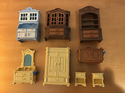 Vintage PLAYMOBIL GOLD PINK CHAIR Banquet Princess Victorian Mansion Dining Room