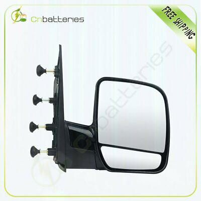 Mirror Manual Passenger Right RH for 09-13 Ford Van E150 E250 E350 E450 E550