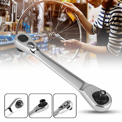 Mini Ratchet Wrench 1//4 Inch Drive Socket Screwdriver 72-tooth Driver Tools J3D9