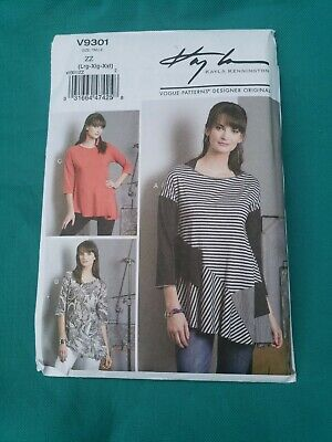 Kayla Kennington Sewing Pattern 425 Cross Over Top Or Jacket Sz Xs S M L Xl Xxl 14 95 Picclick