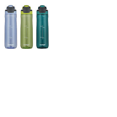 *New* Contigo Autoseal Spill-Proof 709ml Water Bottles, 3 Pack CC-1338494A