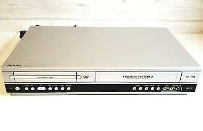 Philips DVP3055V DVD / VHS Video Player / Recorder DVD Player with Scart