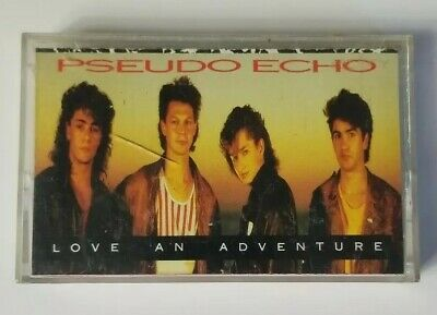 Pseudo Echo Audio Cassette Love an Adventure 1987 RCA Records