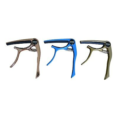 Premium Guitar Capo 'Quick Change' Trigger Clamp for Acoustic Electric Guitar