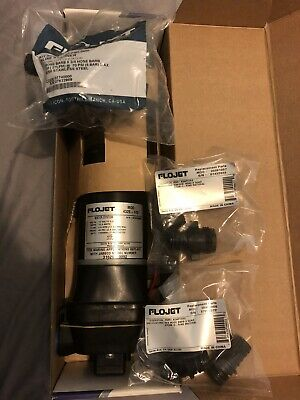 Like-New FloJet Premium Quad Series Marine Washdown and Water Pump 04325143A