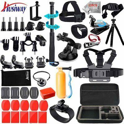 Husiway Accessories Kit for Gopro Hero Black Osmo Action Session Set for Xiaoyi