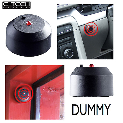 Replacement Dummy Car Alarm Flash Led Light Red 12V Easy Fit 2 Wire Flush Mount