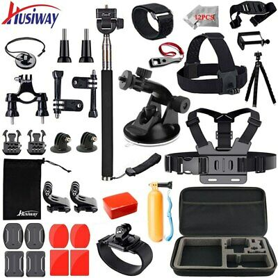 Husiway accessories set for gopro hero 6 5 4 3 kit mount for eken h8r 20A