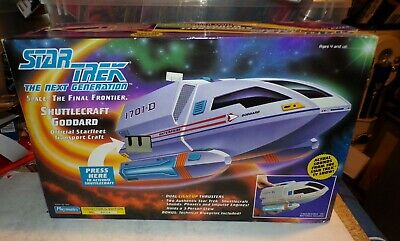 1992  Playmates Star Trek The Next Generation Shuttlecraft Goddard New Sealed BX