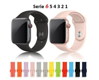 Silicone Sport Band For Apple Watch band Strap For Iwatch 5 4 3 2 1