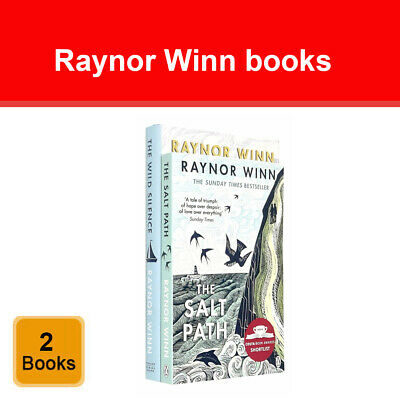 Raynor Winn 2 Books Collection Set The Wild Silence, The Salt Path NEW Pack