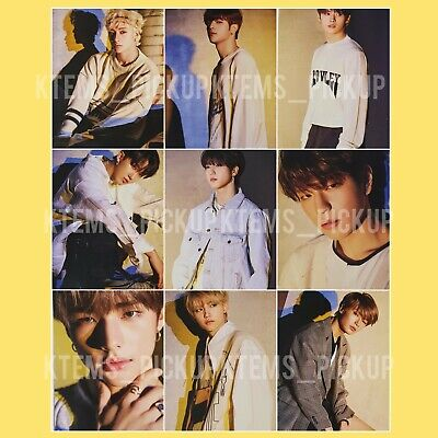 Stray Kids Yellow Wood message photocard Pre order