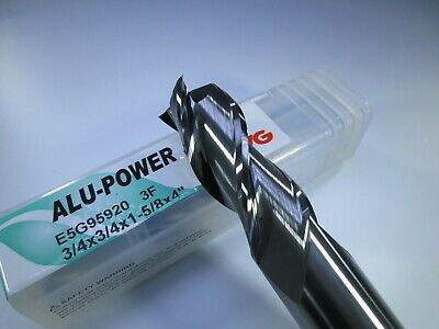 "NEW YG ALU-POWER HPC SOLID CARBIDE 3//4/"" END MILL ALUMINUM  MILLING LATHE TOOL"